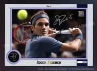 Roger Federer No 1 signed autograph photo poster print picture Tennis Framed