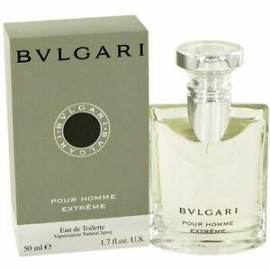 Bvlgari Pour Homme Extreme 1.7 oz /50 ml EDT Spray For Men Vintage Original NiB