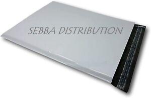 Lot de 100 Enveloppes plastique grise opaques inviolable et imperméable 60 µ