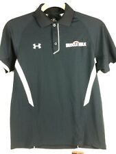 Under Armour Polo Golf Shirt Cytomax Muscle Milk Size Sm Msrp $65