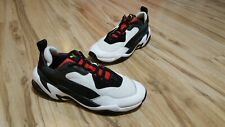 Puma Thunder Spectra White/Black/Red Low Top Sneakers Men's Size 10  (36751607)