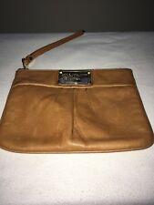 Marc Jacobs Leather Wristlet Clutch Bag Super Soft Leather Fab Condition