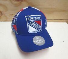 New NHL New York Rangers Men's Embroidered Reebok Adjustable Center Ice Cap OSFA