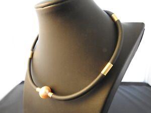Australia AUTORE Necklace 750 Gold (18ct) South Sea Pearls
