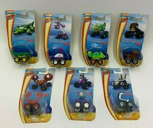 Blaze and the Monster Machines Assorted Vehicles Mini Gabby Monkey Muck Crab Toy