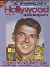 MARCH 1981 HOLLYWOOD STUDIO vintage movie magazine - RONALD REAGAN