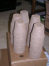 "50 - Biodegradable Peat Pots – 2 ¼"" - Free Shipping - Great Seed Starters!"
