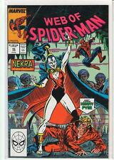WEB OF SPIDERMAN #46 Henry Pym Ant-man 9.6