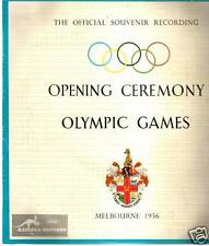 Olympic Games:Melbourne-1956-Opening Cerermony 10''LP
