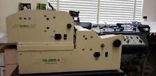 Rb Sun Hs2000A/Hs-250 Business Card Slitter