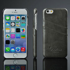 PU Leather Case Hard Back Card Slot Case Cover Shell for iphone 6S 4.7 Inch 1pc