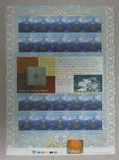 Malaysia 2000 Islamic Art Museum 30sen Stamp Sheet MINT MNH