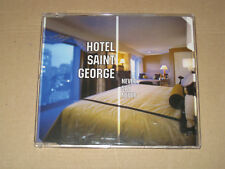HOTEL SAINT GEORGE  NEVER SAY NEVER CDS 3TR Italodance 2002 Italy Do It Yourself