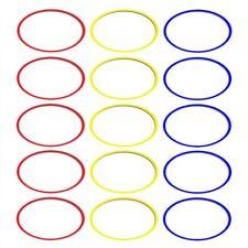 Koordinationsringe_15 Stück a 36 cm verschieden Farben_Schnelligkeitstraining