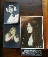 1910 Edwardian Hairstyle Young Girl Curls Locks of Hair 1910 Butler Photographer
