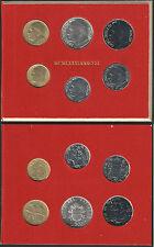 1981 Città del Vaticano Giovanni Paolo II divisionale 6 monete FDC