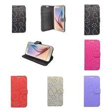 Étuis, housses et coques etuis portefeuilles brillants Samsung pour téléphone mobile et assistant personnel (PDA)
