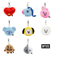 BT21 Official Authentic Goods Mirror Bag Charm Doll  CHIMMY COOKY Etc