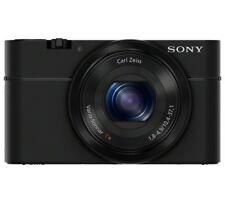 Sony Cybershot RX100 3.6x Zoom Compact Digital Camera Black - BRAND NEW