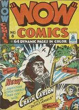 Wow Comics #8 Photocopy Comic Book, Bell Publications, Canadian, Crash Carson