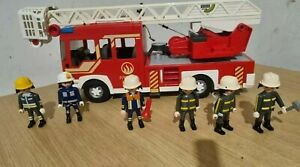Playmobil Fire Engine with Figures