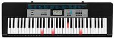 Keyboard Casio LK-136 Leuchttastenkeyboard Tasteninstrument Musizieren schwarz