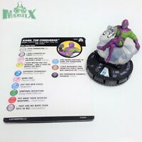 Heroclix Avengers Black Panther & Illuminati Kang, the Conqueror #056 Super Rare
