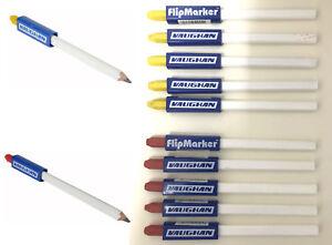 Vaughan Carpenters Pencil / Flipmarker Red & Yellow colour crayon