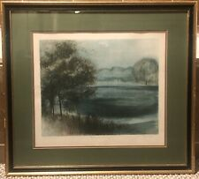 "ARTIST PROOF - D. Vidito Pencil Signed & Framed Lithograph ""September Rain"""