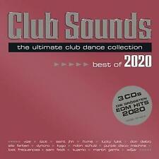 CD - Club Sounds - Best Of 2020 von Various ( 3 DISC) NEU & OVP