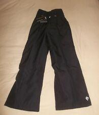 Killy Gloria Insulated Pants Softshell Thinsulate Ski Pant w Gaiters BLACK $295