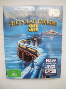 The Polar Express 3D Blu-Ray Brand New Sealed 2011 FREE POSTAGE