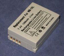 Batterie 1200mAh type NB-10L NB10L Pour Canon PowerShot SX40 HS