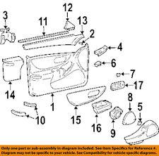 Oldsmobile GM OEM 2000 Intrigue Front Door-Switch Bezel Left 10290562