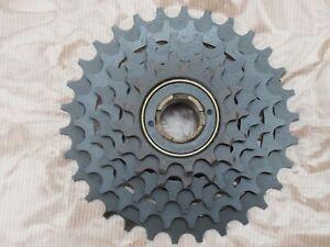 Vintage SUNTOUR AP 6 speed Freewheel  13T-30T Threaded screw on fit NOS