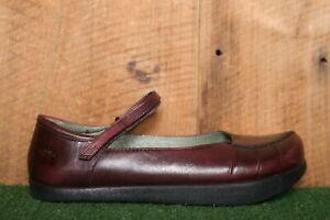 KALSO EARTH SHOE 'Simplista' Purple Leather Mary Janes Women's Sz. 8B