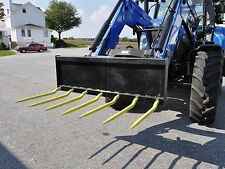 "Euro 60"" Manure Fork - 7 - 36"" Cranked Tines"