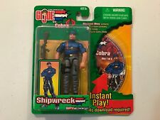 GI Joe Spy Troops Shipwreck action figure w/Mission Disc CD Hasbro New 2003