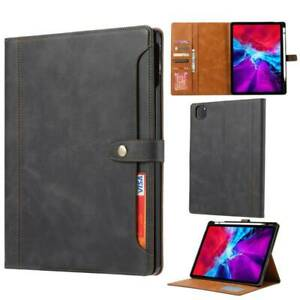 PU Leather Stand Wallet Case Cover for iPad 9.7 10.2 Pro 11 12.9 Air 3 4 Mini 5