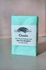 100% NATURAL HANDMADE SOAP!!  WILD SAGE CO!! OASIS SCENT!!