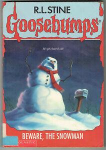 GOOSEBUMPS, BEWARE THE SNOWMAN #51, 1st edition USA, GC.