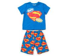 Polyester Boys' Sleepwear Blue Pajama Sets