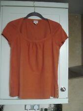 Whistles Orange Top  - Size 3