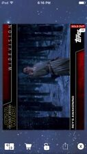Topps Star Wars Digital Card Trader Rey's Awakening Widevision Insert