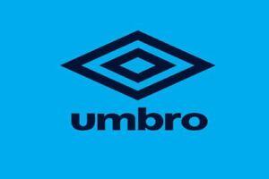 Navy Umbro Logo for Retro England 1990 3rd Third Football Shirt