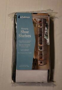 Whitmor Hanging Shoe Shelves(Package Opened)