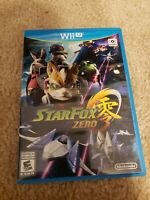 Star Fox Zero (Wii U, 2016) comes complete in box second game not included.