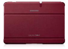 GENUINE SAMSUNG GALAXY TAB 2 10.1 BOOK COVER STAND FLIP CASE  EFC-1H8SRECSTD RED
