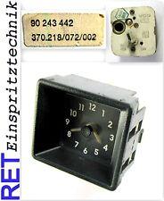 Reloj cronómetro, VDO 370.218/072/002 Opel 90243442 Opel Kadett E original