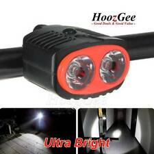 Ultra Bright 2 LED Bike Bicycle Cycling Front Light HeadLamp Torches Waterproof